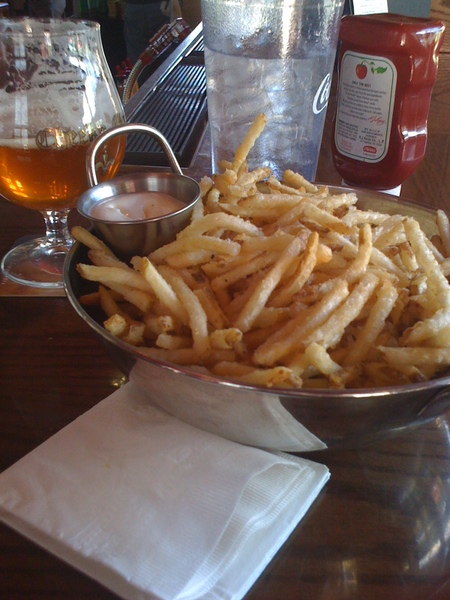 frites & beer cheeky monk