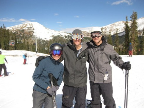 steph, greg, jake, abasin opening