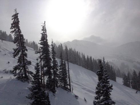 snow sun loveland
